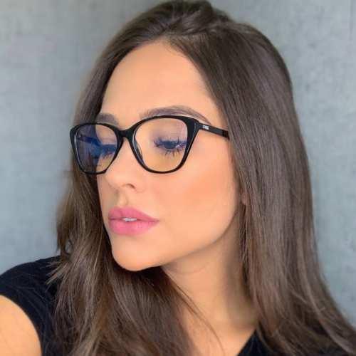 oticagriss armacao para oculos de grau griss 104 preto