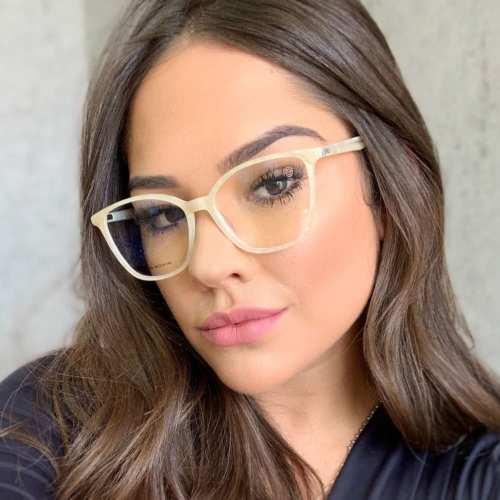 oticagriss armacao para oculos de grau griss 105 perolado