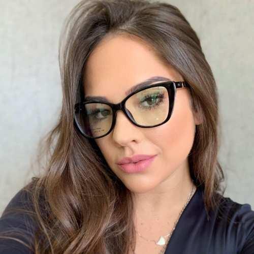 oticagriss armacao para oculos de grau griss 119 preto