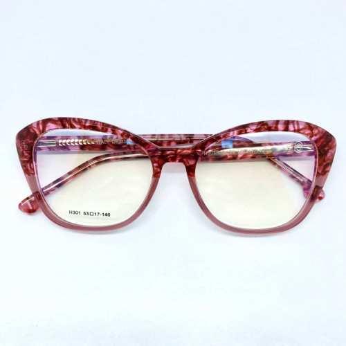 oticagriss armacao para oculos de grau griss 122 rosa 1