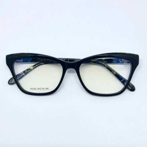 oticagriss armacao para oculos de grau griss 123 preto 5