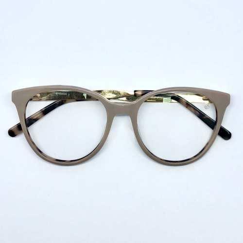 oticagriss armacao para oculos de grau griss 114 nude 1