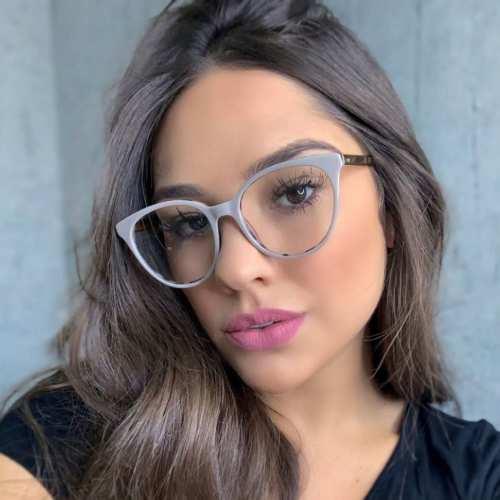 oticagriss armacao para oculos de grau griss 114 nude
