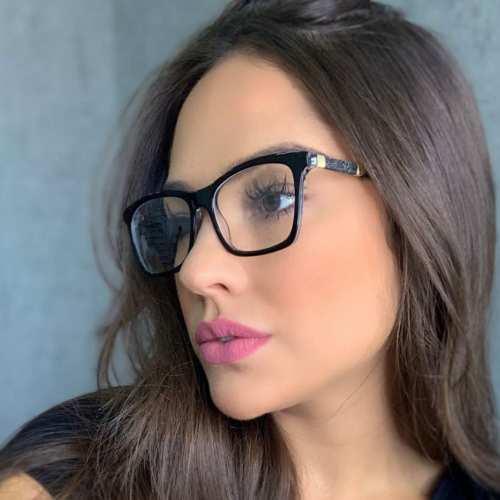 oticagriss armacao para oculos de grau griss 115 preto