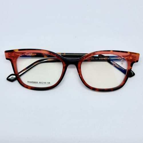 oticagriss armacao para oculos de grau griss 125 tartaruga vermelha 2