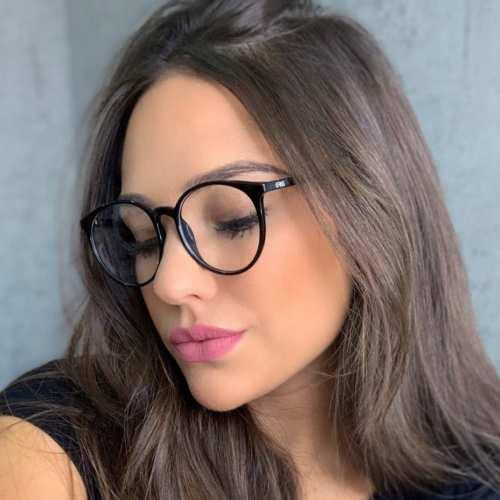 oticagriss armacao para oculos de grau griss 127 preto 3