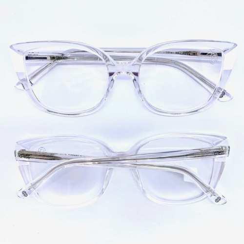 oticagriss armacao para oculos de grau griss 129 transparente 1