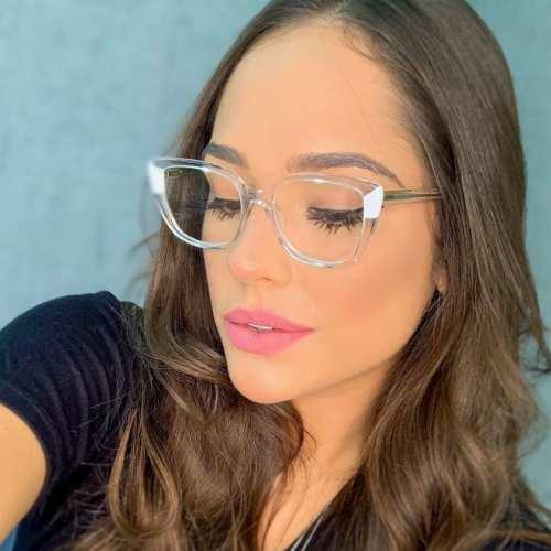 oticagriss armacao para oculos de grau griss 129 transparente 2