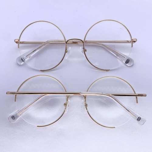 oticagriss armacao para oculos de grau griss 130 dourado 2