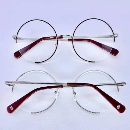 oticagriss armacao para oculos de grau griss 130 marsala