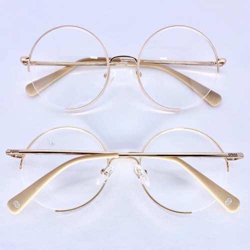oticagriss armacao para oculos de grau griss 130 nude 1