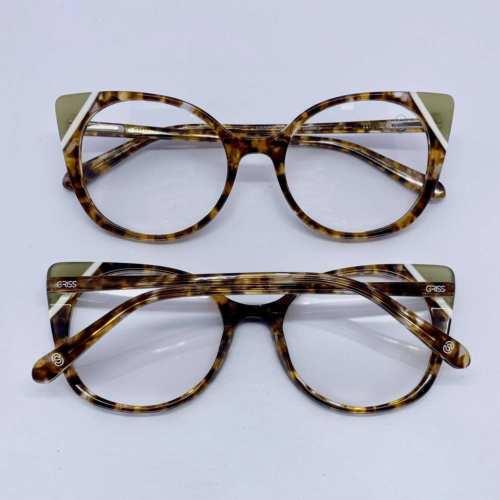 oticagriss armacao para oculos de grau griss 132 nude 1