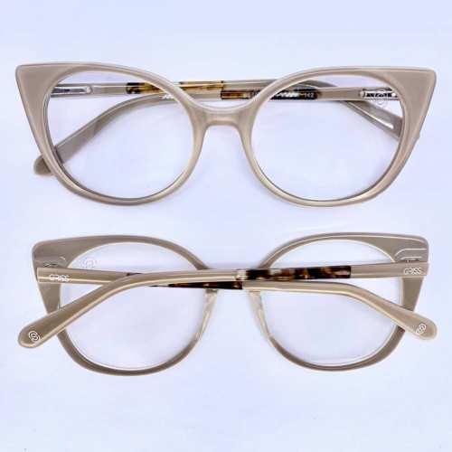 oticagriss armacao para oculos de grau griss 132 nude 4