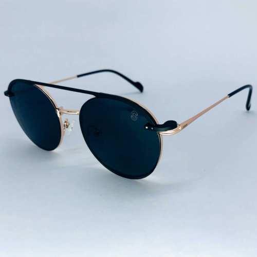 oticagriss armacao para oculos de grau griss 133 dourado 1