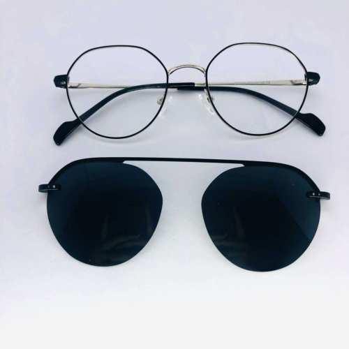 oticagriss armacao para oculos de grau griss 134 prata 3