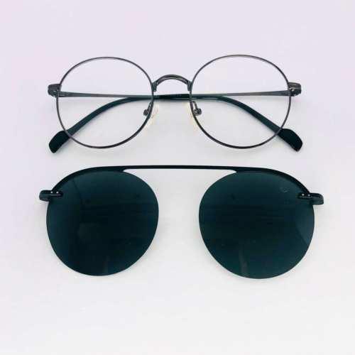 oticagriss armacao para oculos de grau griss 134 prata