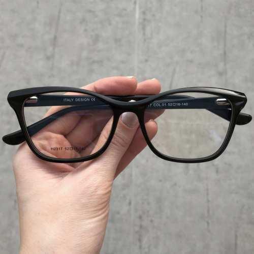oticagriss oculos de grau gatinho preto 175