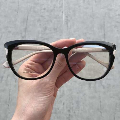 oticagriss oculos de grau gatinho preto com nude 176