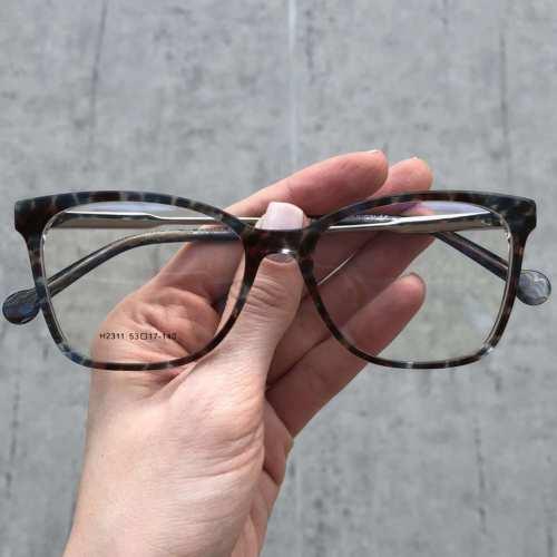 oticagriss oculos de grau quadrado azul com preto 170 2