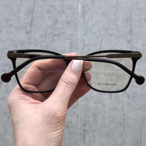 oticagriss oculos de grau quadrado preto 170 1