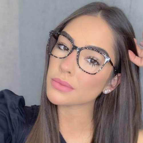 oticagriss oculos de grau quadrado preto rajado 170 3
