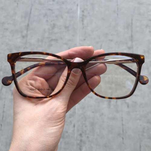 oticagriss oculos de grau quadrado rajado 170 1