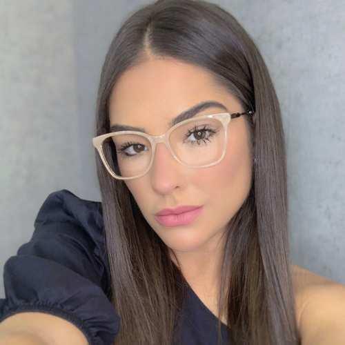 oticagriss oculos de grau quadrado salmao 170 3