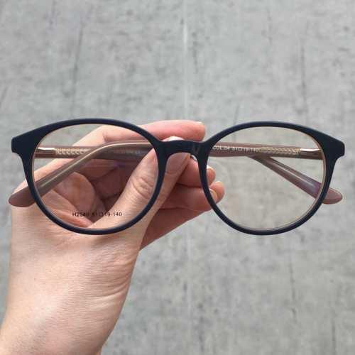 oticagriss oculos de grau redondo azul 177