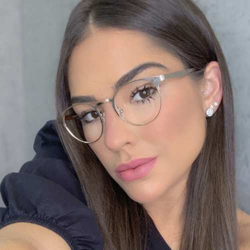 oticagriss oculos de grau redondo dourado 169 3