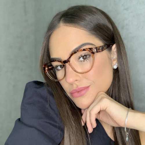 oticagriss oculos de grau redondo marrom com tartaruga 173