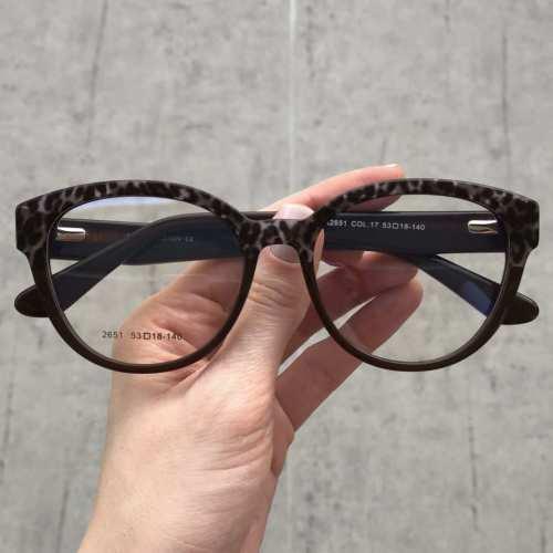 oticagriss oculos de grau redondo marrom escuro com tartaruga 173 2