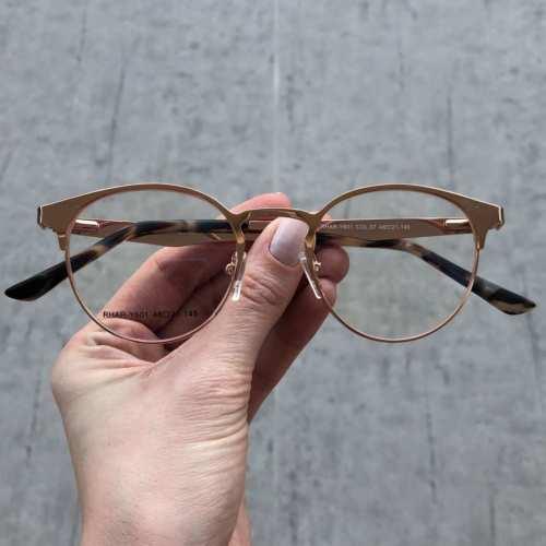 oticagriss oculos de grau redondo rose 169 3