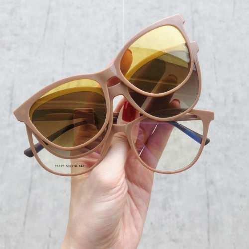 oticagriss oculos clip on gatinho nude 186 2