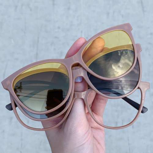 oticagriss oculos clip on gatinho nude 186 4