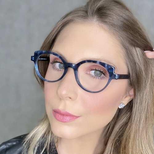 oticagriss oculos de grau gatinho azul com tartaruga 184 1
