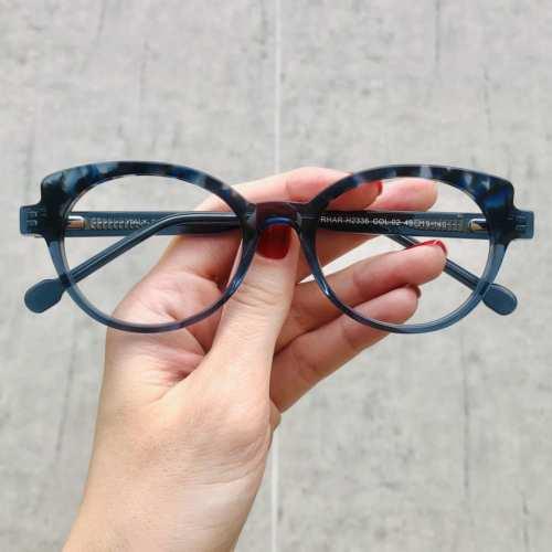 oticagriss oculos de grau gatinho azul com tartaruga 184 2