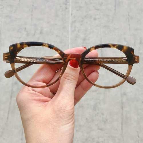 oticagriss oculos de grau gatinho marrom com tartaruga 184 2