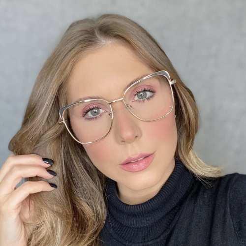 oticagriss oculos de grau gatinho preto 179 5