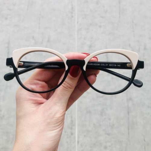 oticagriss oculos de grau gatinho preto com nude 184 1