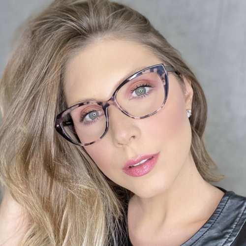 oticagriss oculos de grau gatinho rosa com tartaruga 180 3