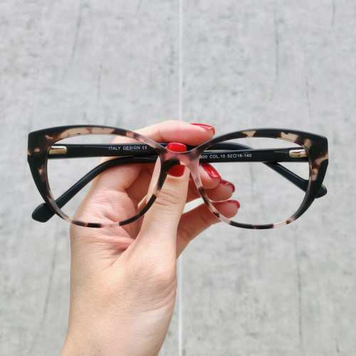 oticagriss oculos de grau gatinho rosa com tartaruga 180 4