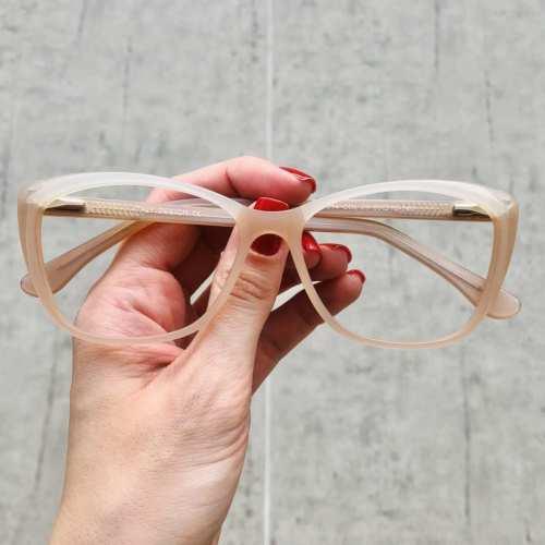 oticagriss oculos de grau gatinho rose 181 3