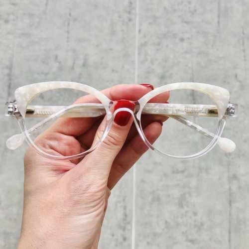 oticagriss oculos de grau gatinho transparente 184 2