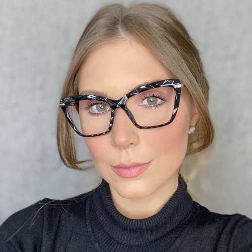 oticagriss oculos de grau gatinho preto 191 3