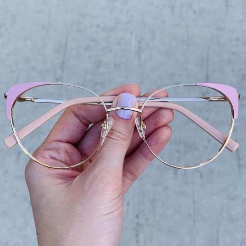 oticagriss oculos de grau gatinho rosa 190 3