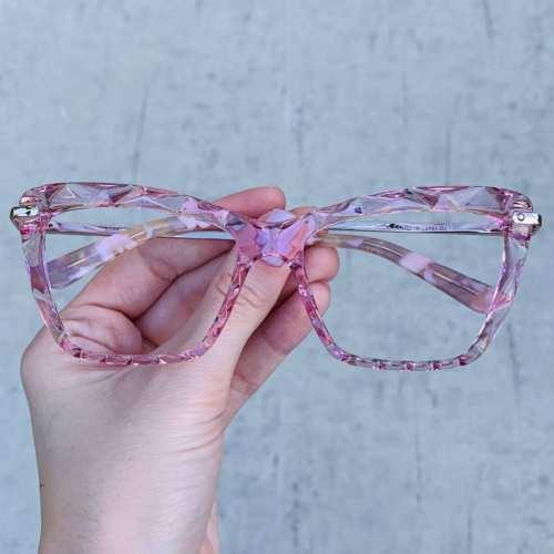oticagriss oculos de grau gatinho rosa 191 1