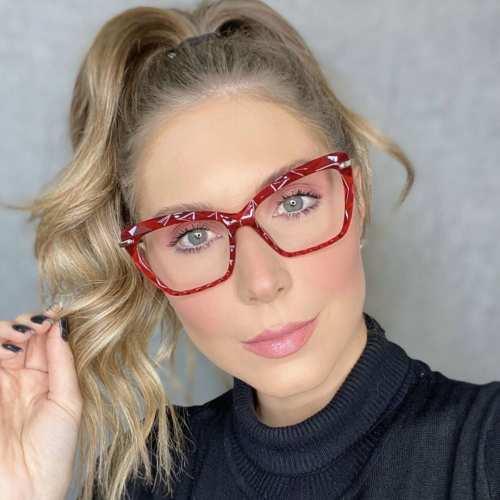 oticagriss oculos de grau gatinho vermelho 191 3