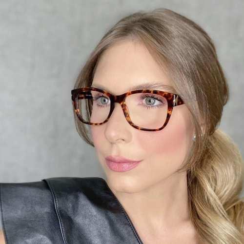 oticagriss oculos de grau retangular rajado 188 1