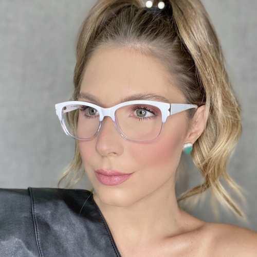 oticagriss oculos de grau retangular transparente 188 1
