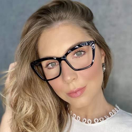 oticagriss oculos de grau gatinho preto 195 2